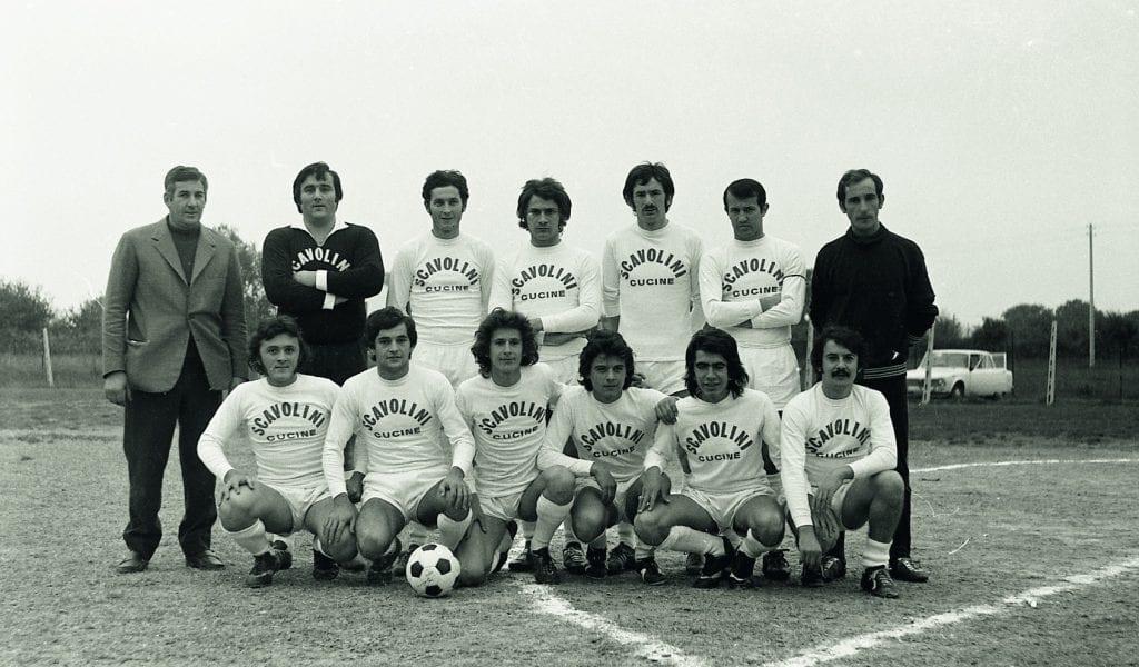 foto storica muraglia calcio